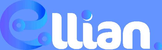 Logo ELLIAN bleu/blanc
